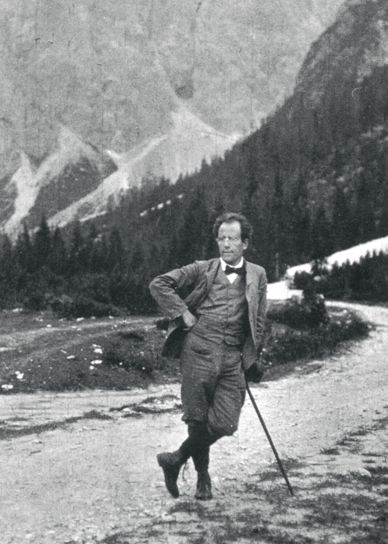 Gustav Mahler in Toblach